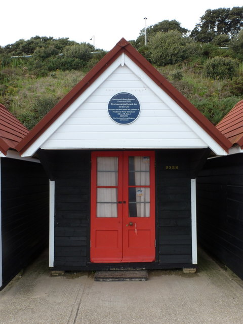 Bournemouth: Britain's first municipal beach hut