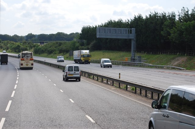A14 heading east