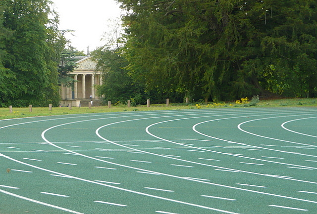 Stowe Park, athletics track