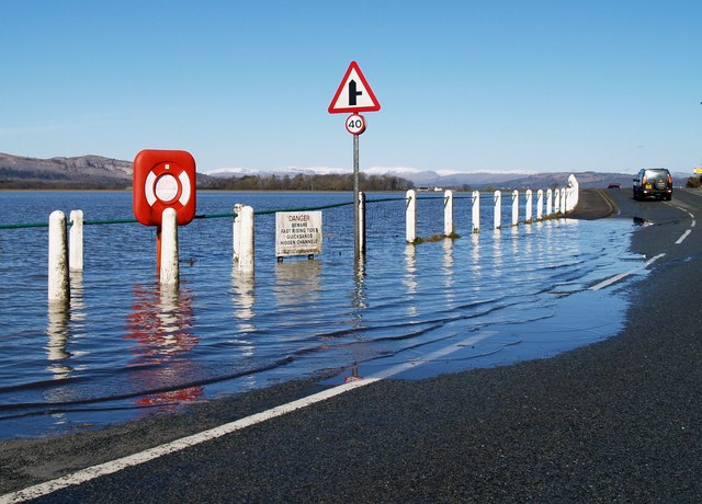 Very High Tide at Arnside