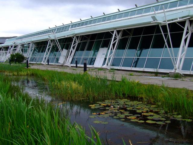 Ornamental pond Greenock Waterfront