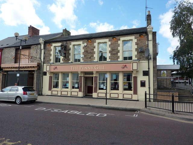 The Penny Gill, Cheapside, Spennymoor