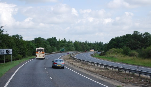 A11 heading north