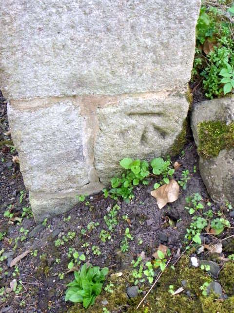 Bench Mark, South Craster Farm House