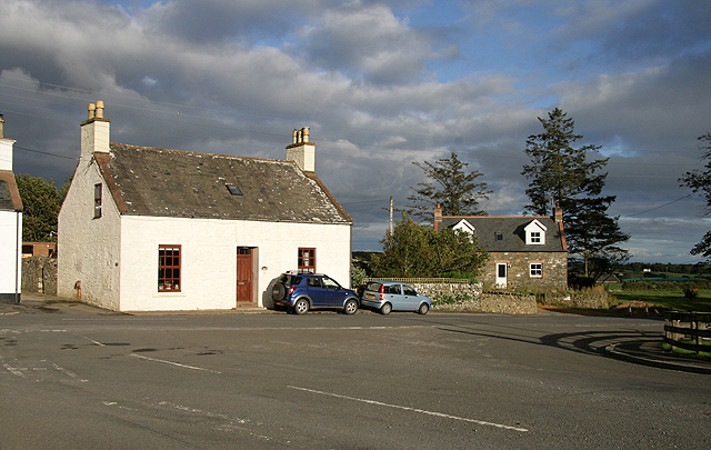 Houses at Borgue