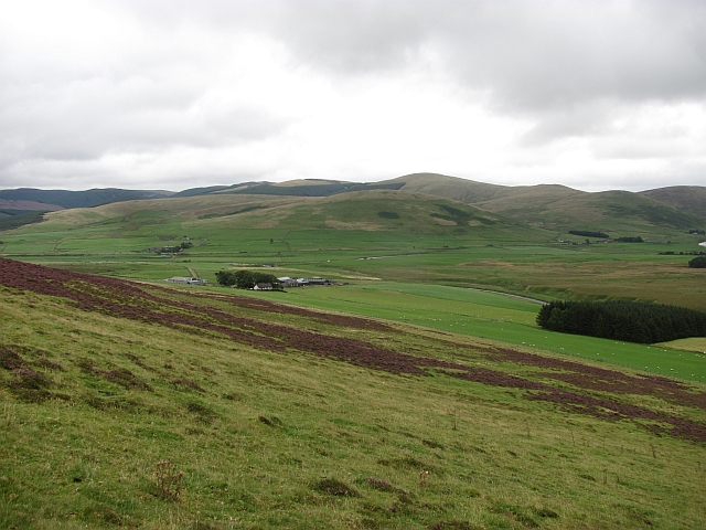 Slopes of Forside Hill