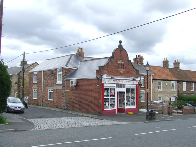 Local shop in Newbottle