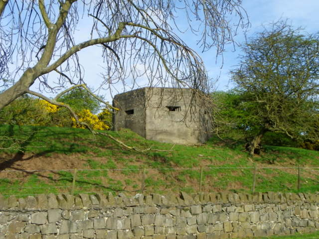 Pillbox near Craster