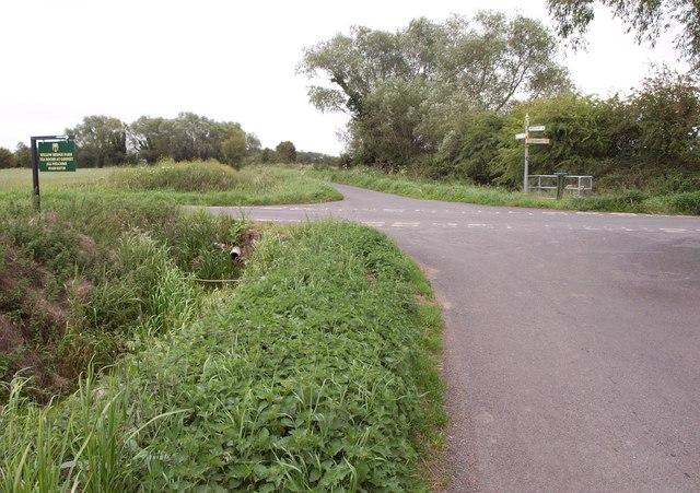 Crossroads near Lower Godney