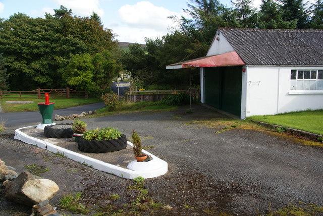 Former garage in Mynachlog-ddu