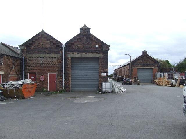Former railway sheds, Philadelphia near Washington