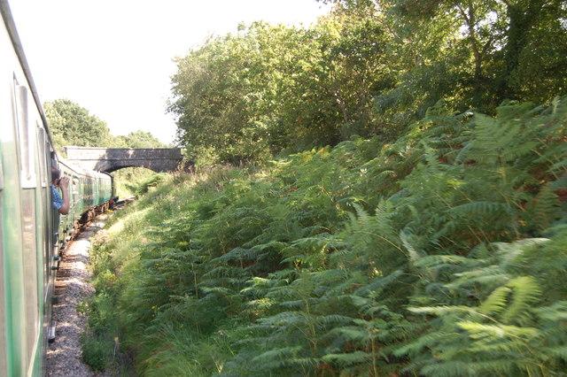 Road bridge over the Swanage Railway