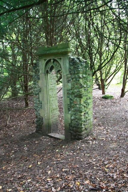 Mannington Church Ruins - Archway