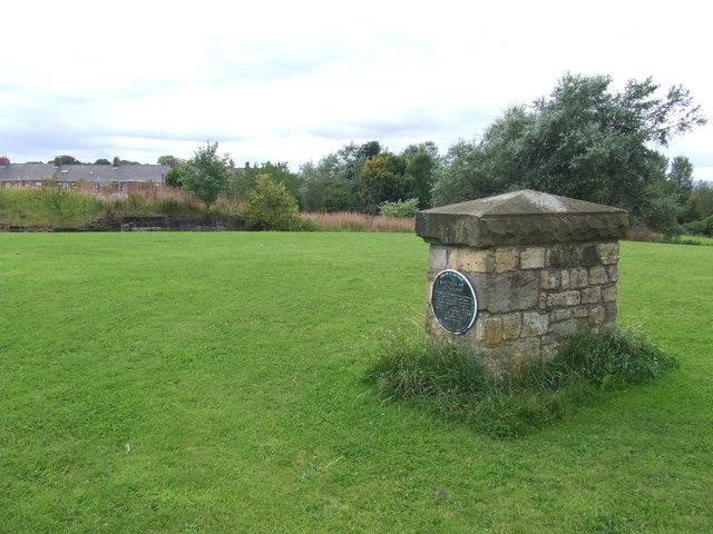 Pit marker stone, Philadelphia near Washington