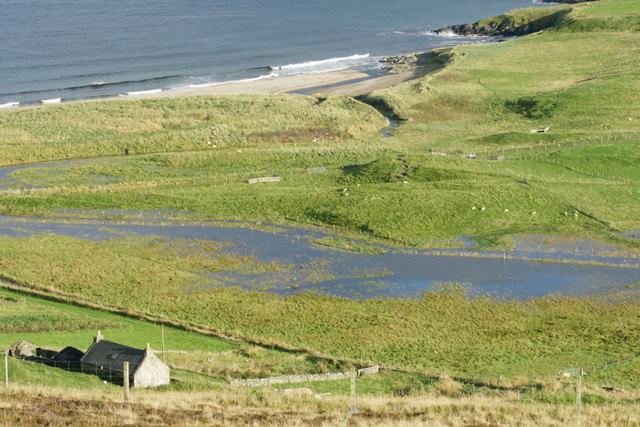 Battles Kirk and Norwick beach