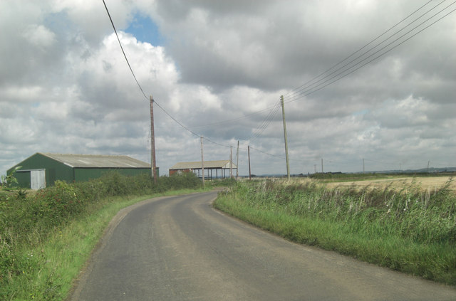 St Mary's Road south of Brodynex Farm