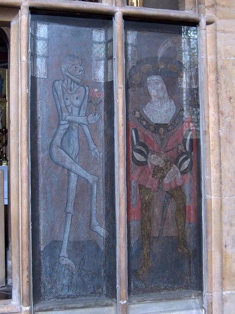St Mary Magdalene Church, Newark - Early 16th century painted panels