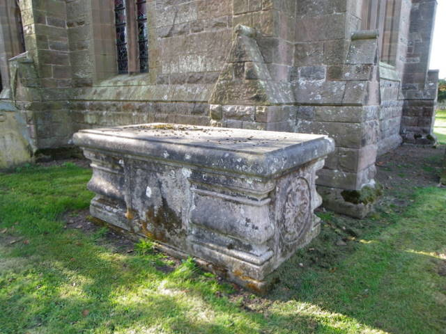 Tomb at Holy Trinity Church, Embleton