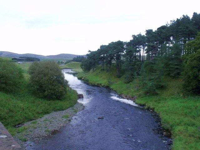Elvanfoot, river Clyde