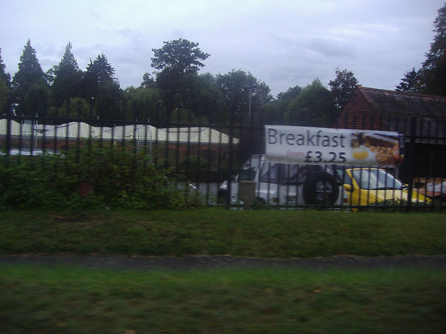 Squires garden centre from the A25