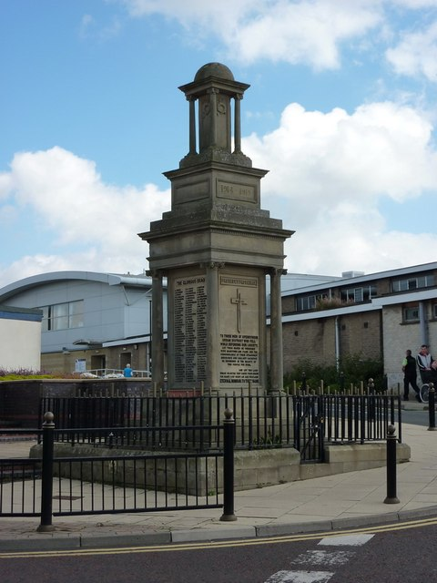 War Memorial, Spennymoor