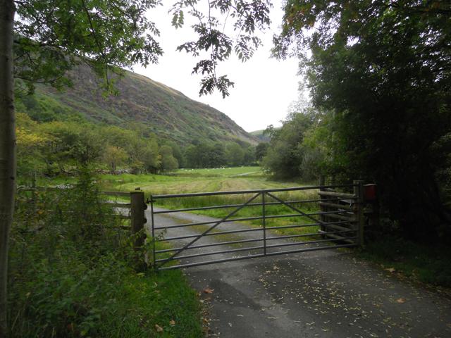 Gateway to Blaen-rhiwarth