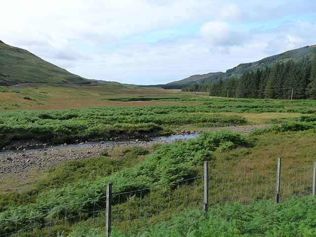 Upper reaches of Glen Bellart