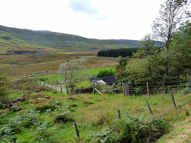 Upper reaches of Glen Bellart
