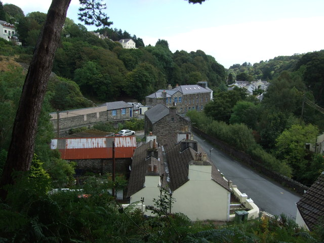 View from Christ Church Laxey