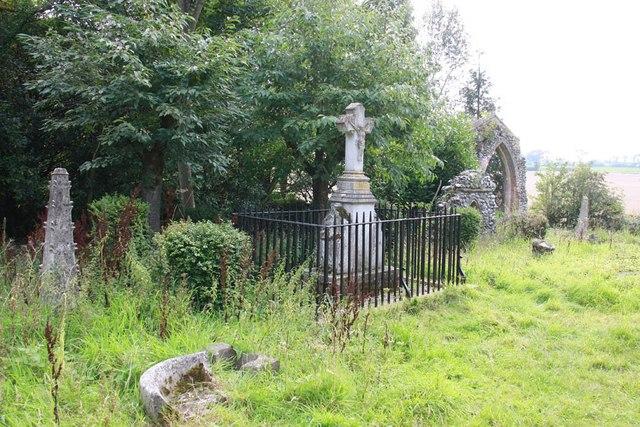 Mannington Church - Churchyard