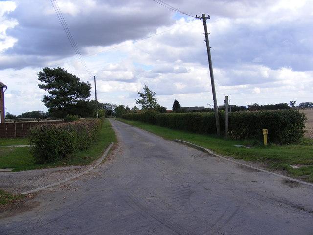 The Entrance to Villa Farm