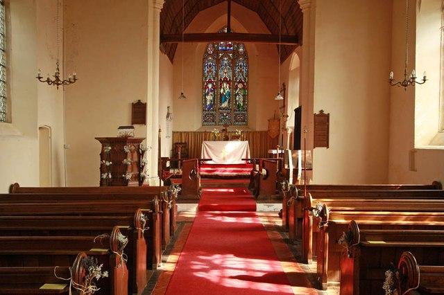 All Saints, Wood Norton - East end
