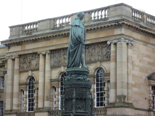 Duke of Buccleuch statue, West Parliament Square