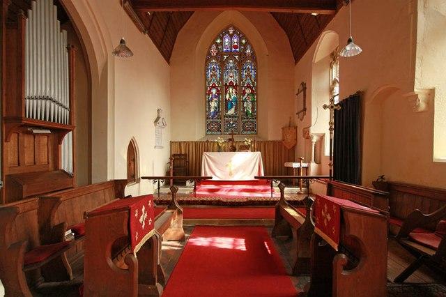 All Saints, Wood Norton - Chancel