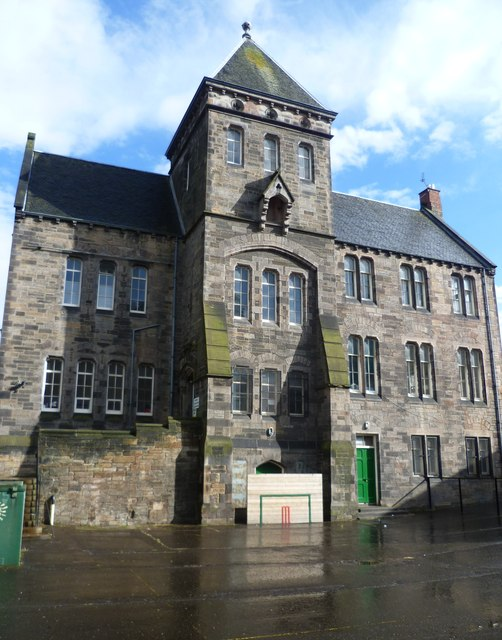 Leith Walk School from the playground