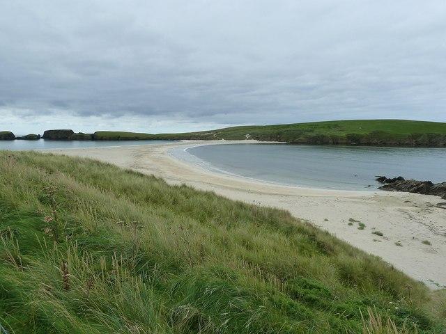 Tombolo to St Ninian's Isle