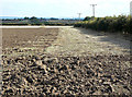 SK6937 : Partially ploughed field by Alan Murray-Rust