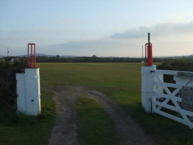 Leedstown Cricket Club - Entrance