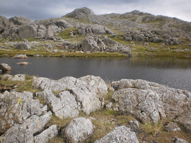 Crinkle Crags from Three Tarns