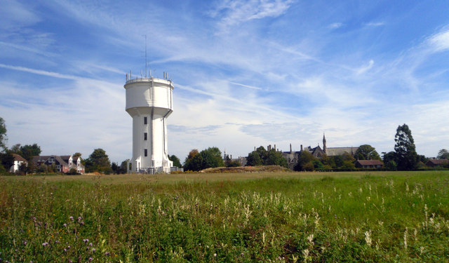 Water Tower and School