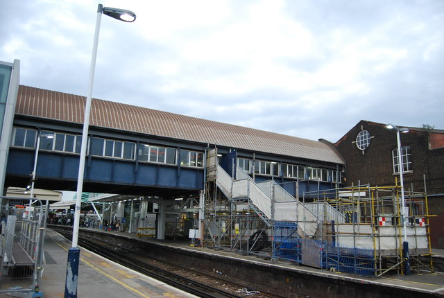 Footbridge, Clapham Junction