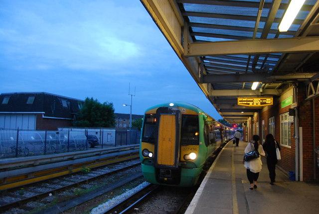 Southern train at Horsham