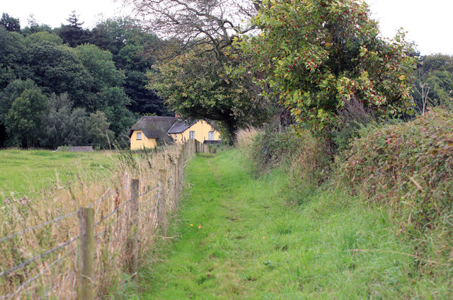 Rural Cottage along the footpath