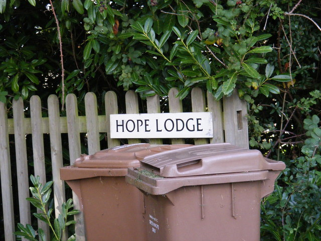 Hope Lodge sign