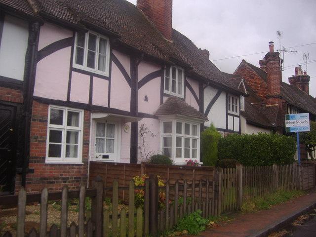 Cottages on High Street Brasted