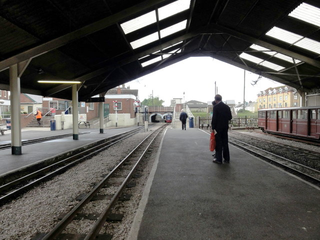 New Romney, train shed
