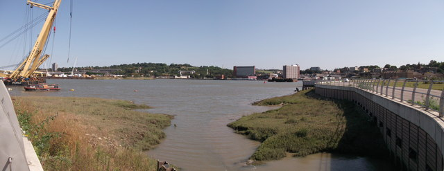 Panorama of Chatham Waterfront