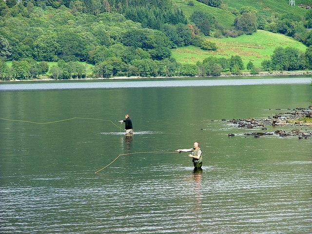 Fishing on Loch Earn