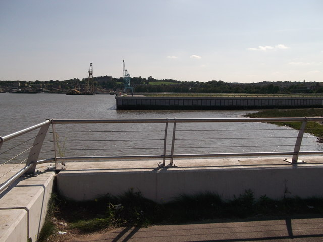 Looking across Cory's Creek, Rochester Riverside