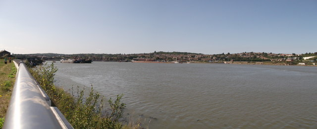 River Medway Panorama near Gashouse Point